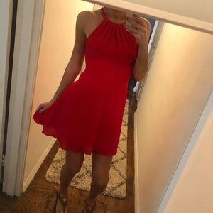 Express - Red Dress